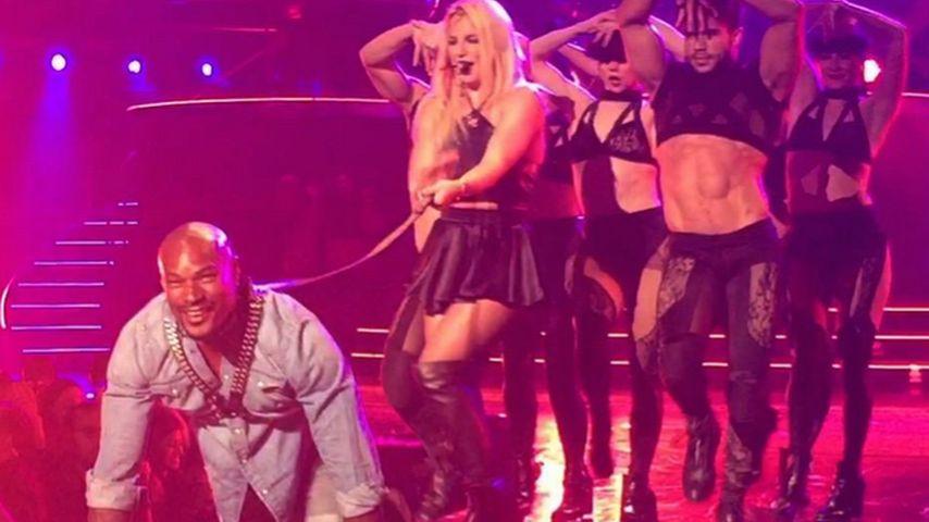 """Sexy Show: Britney Spears performt mit ihrem """"Toxic""""-Hottie"""