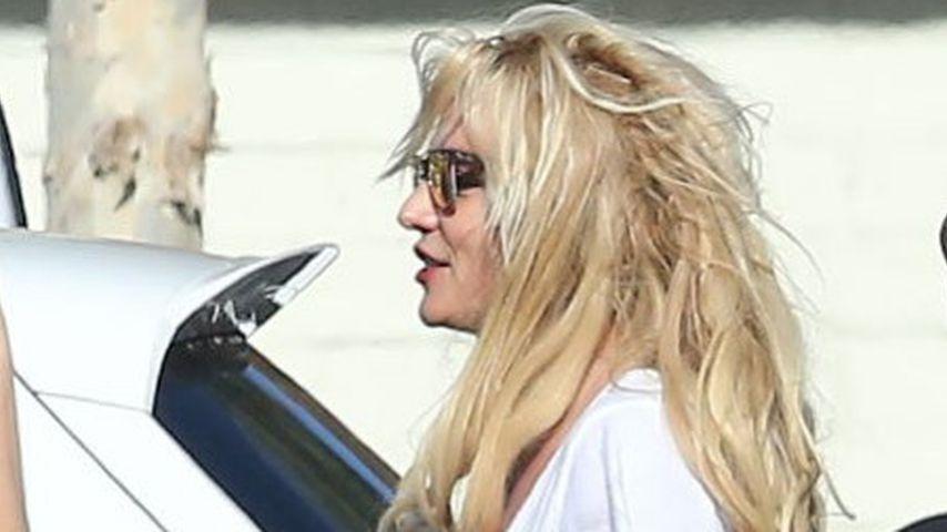 Außer Kontrolle? Britney Spears mit total verfilzter Frise