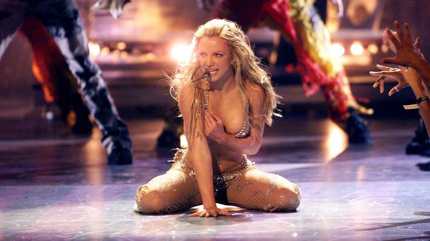 Britney Spears bei den MTV Video Music Awards im Jahr 2007