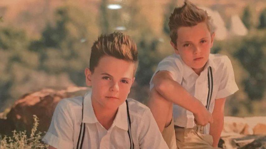 Cool oder peinlich? Britneys Jungs bei Schuljungen-Fotoshoot