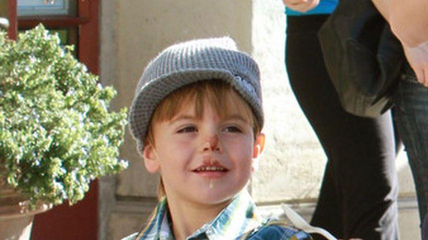 Süß! Britneys Sohn hat eine Schoko-Nase