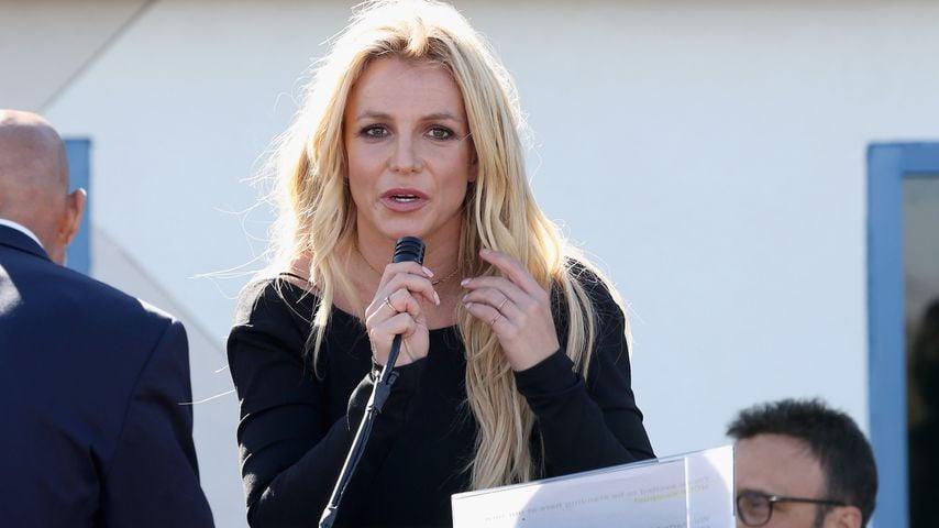 """Britney Spears bei der Eröffnung des """"Britney Spears Campus"""" in Las Vegas"""