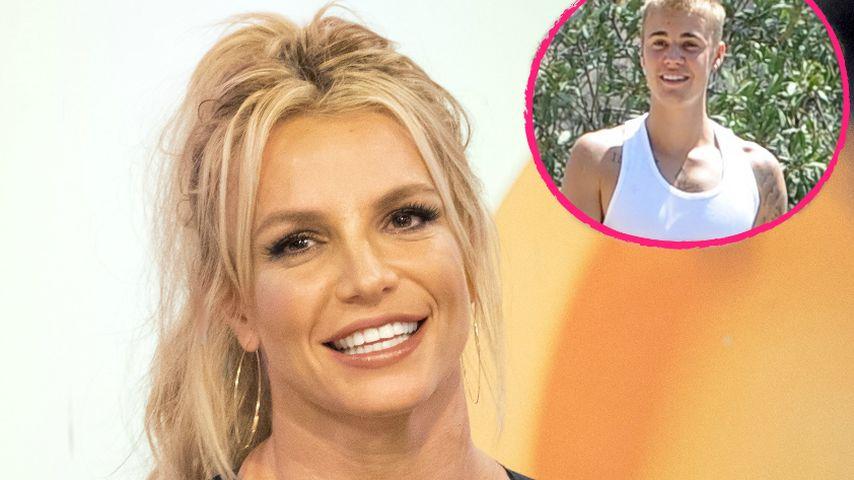 Sie mag es jung! Britney Spears will Justin Bieber knutschen