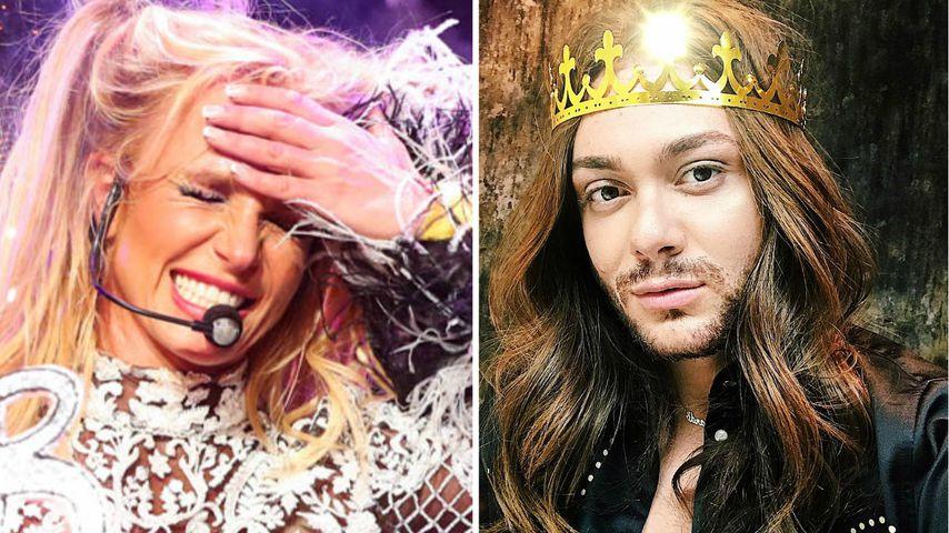 Wegen Britney! Riccardo Simonetti rasierte sich die Haare ab