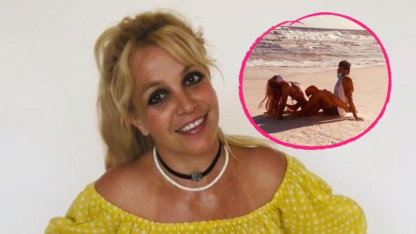 Sexy: Britney Spears teilt Urlaubspic mit Freund Sam Asghari