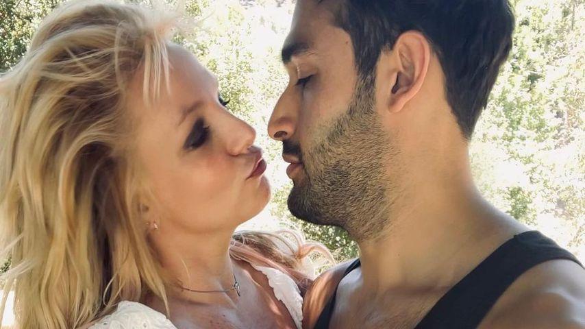 Britney Spears und Sam Asghari, Juni 2021