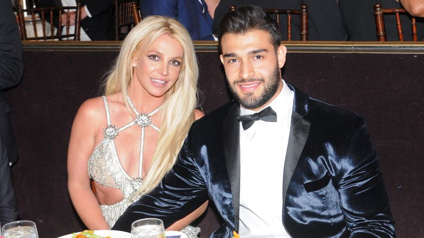 Britney Spears und Sam Asghari im April 2018