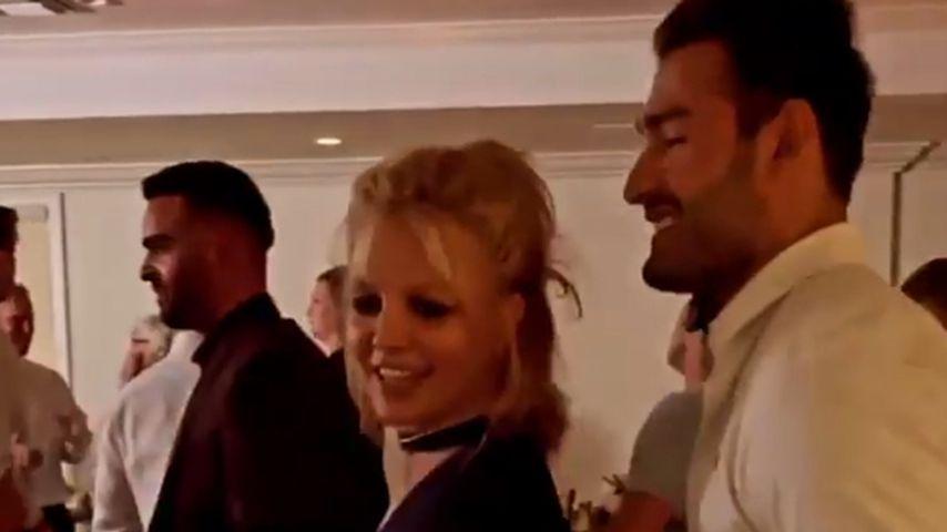 Britney Spears und Sam Asghari im April 2021
