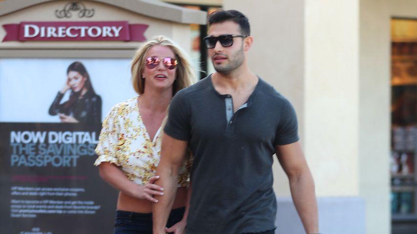 Britney Spears und Sam Ashgari beim Shoppen, Mai 2019