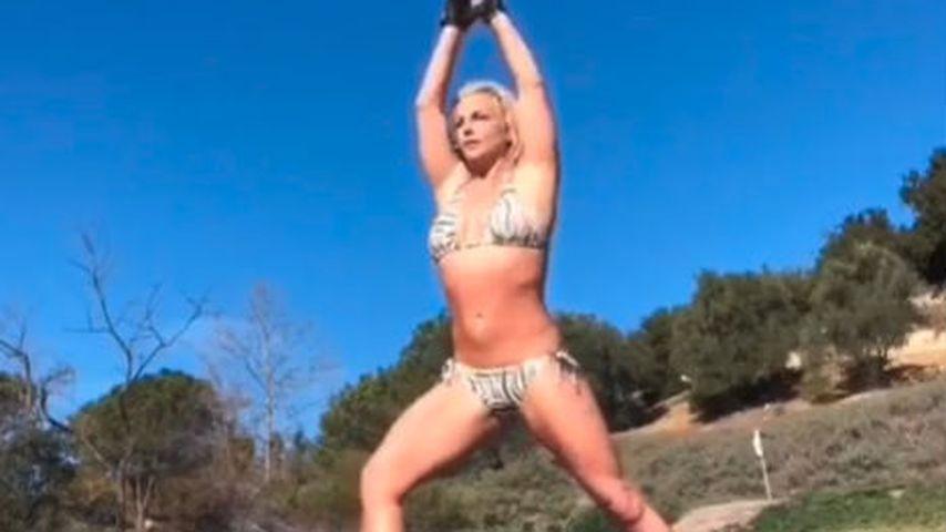 Britney Spears nach ihrer Entlassung aus der Klinik