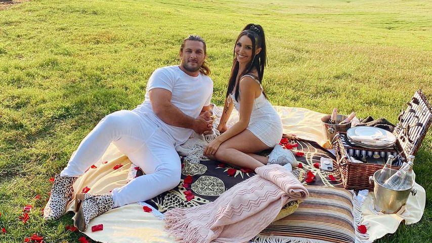 Brock Davies und Scheana Shay im September 2020