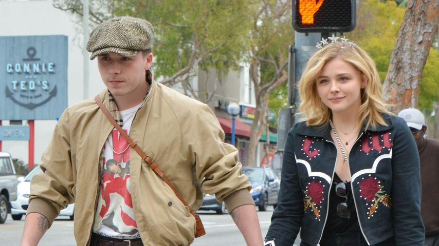 Brooklyn Beckham und Chloë Grace Moretz in Los Angeles