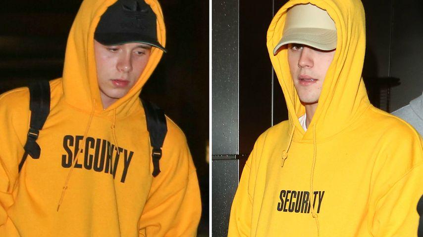 Wer kopiert wen? Mode-Twins Brooklyn Beckham & Justin Bieber