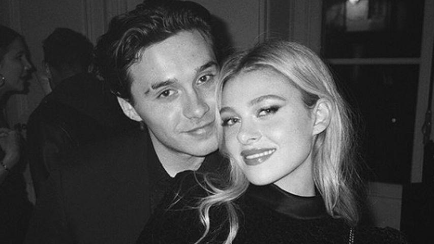 Brooklyn Beckham und Nicola Peltz im Februar 2020