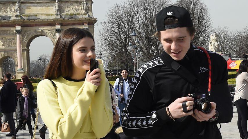 Alte Liebe neu? Brooklyn Beckham & seine Ex Sonia in Paris!