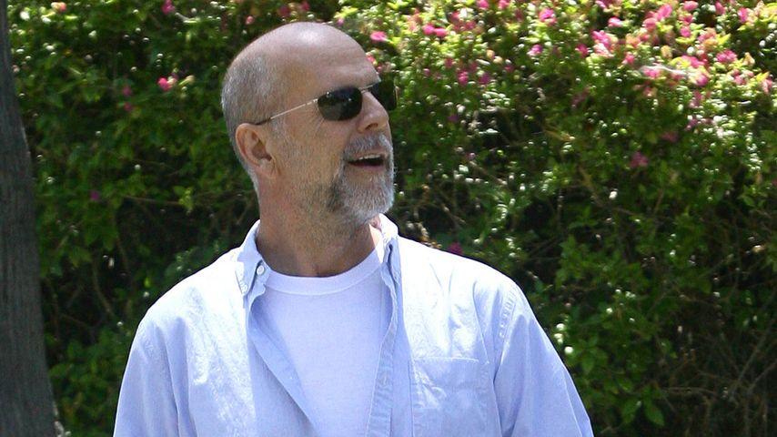Haarige Angelegenheit: Bruce Willis Mit Bart!