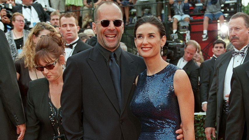 Bruce Willis und Demi Moore 1997