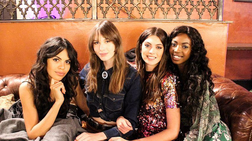 GNTM-Kandidatinnen Bruna, Stephanie, Christina und Abigail