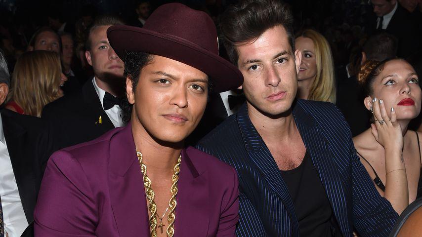 Bruno Mars und Mark Ronson, Musiker