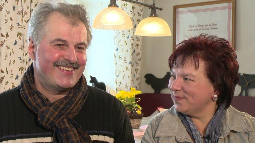 Bauer Bruno & seine Anja: Es war Liebe auf den ersten Blick!
