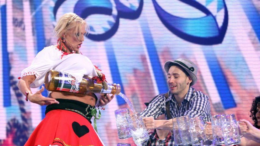 Das Supertalent: Busty Heart gibt die Bier-Brust