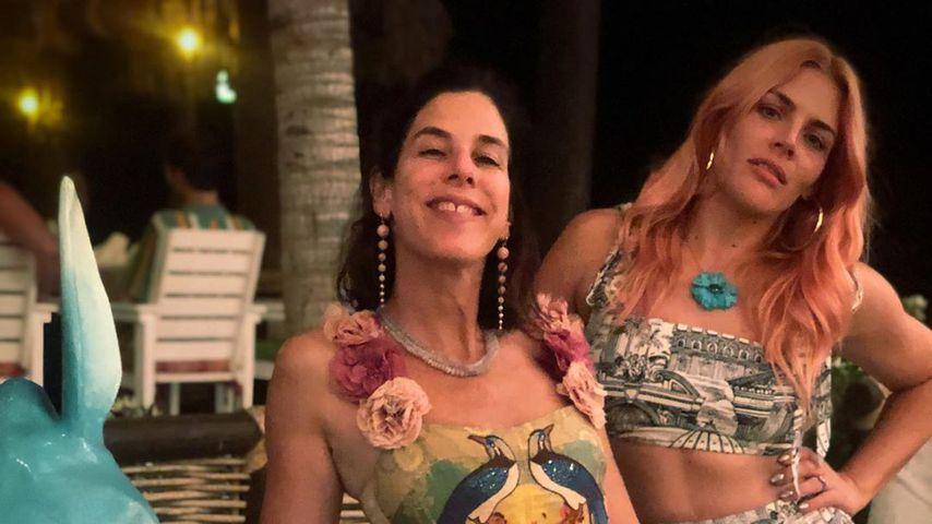 Busy Philipps (r.) mit einer Freundin im Juni 2019 in Mexico