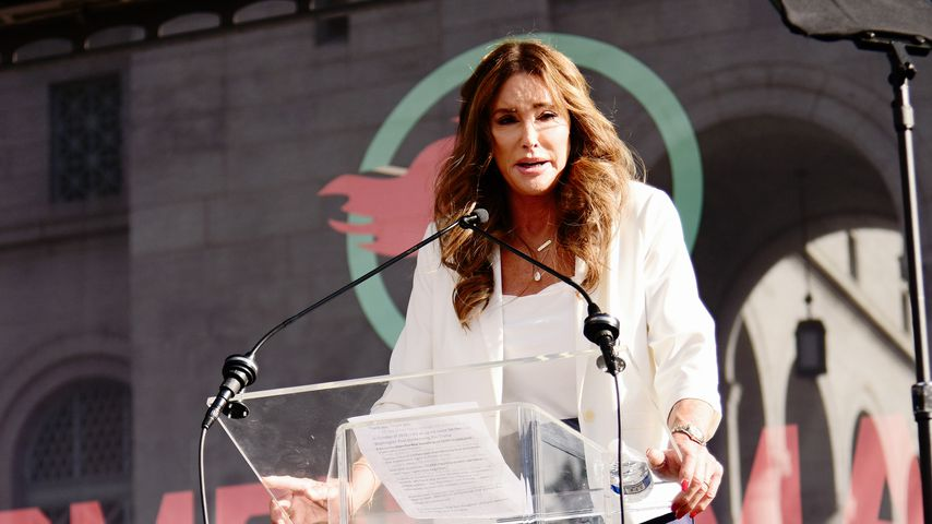 Caitlyn Jenner beim Woman's March in Los Angeles im Januar 2020