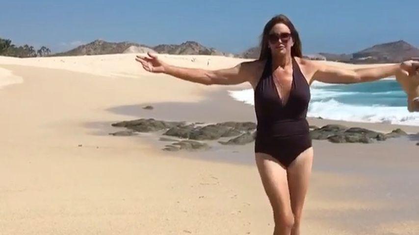 Traum erfüllt: Caitlyn Jenner endlich als Frau am Strand!