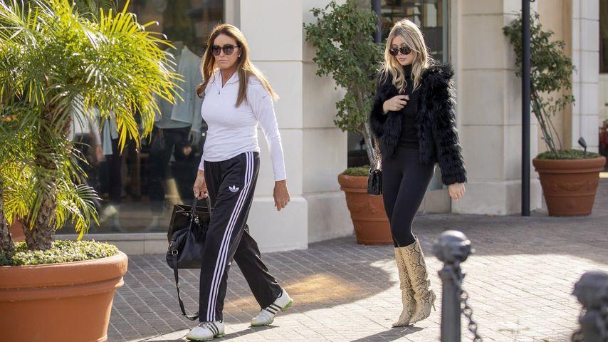 Caitlyn Jenner und Sophia Hutchins, Dezember 2019