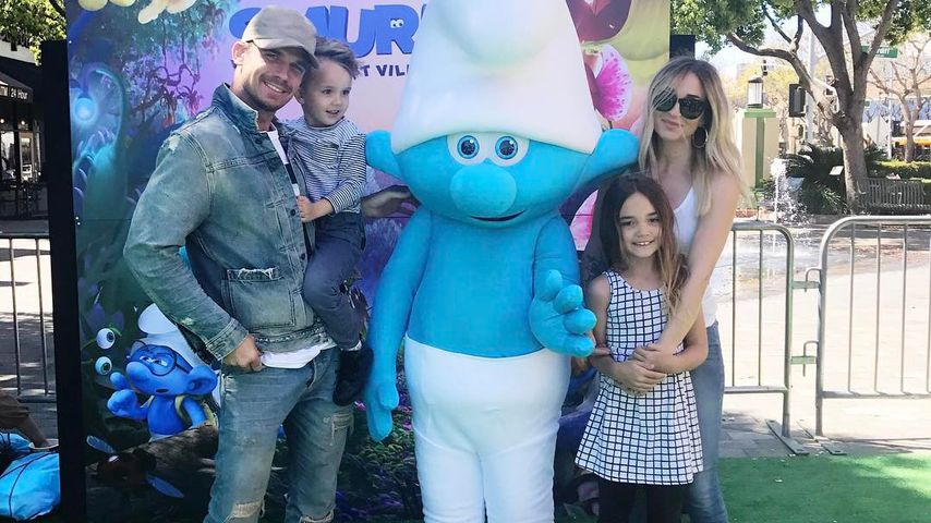 Family-Time mit Twilight-Star: Cam Gigandet macht blau