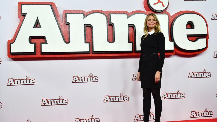 """Cameron Diaz bei der """"Annie""""-Premiere in London 2014"""