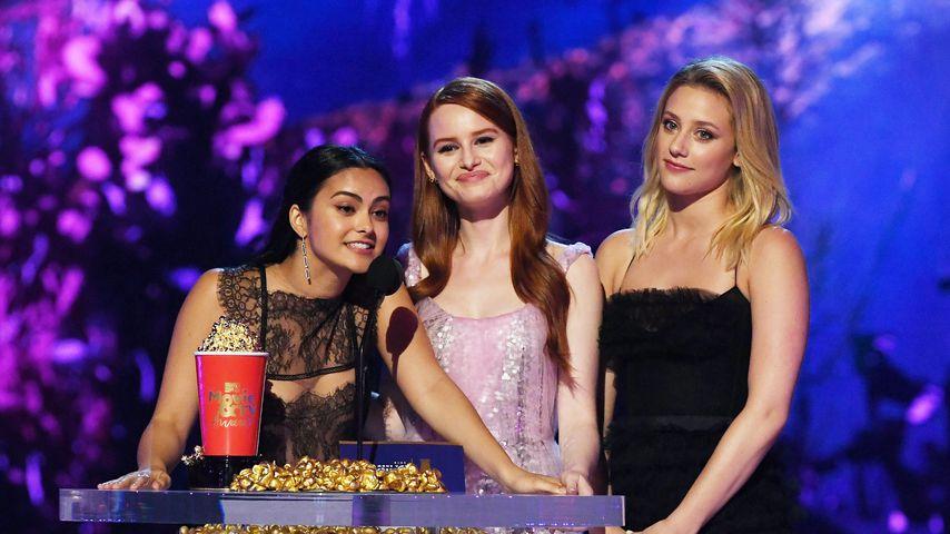 Camila Mendes, Madelaine Petsch und Lili Reinhart, 2018