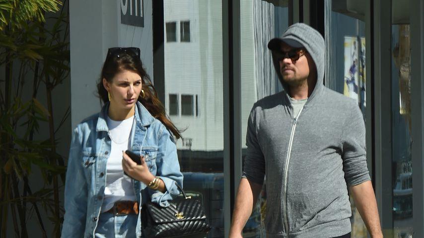 Für Model-Freundin: Leonardo DiCaprio wird zum Insta-Husband