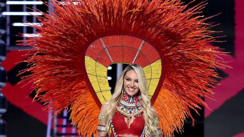 Candice Swanepoel bei der Victoria's Secret Fashion Show in Shanghai