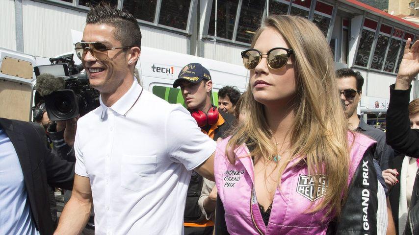Formel-1-Date? Cara Delevingne & Cristiano Ronaldo in Monaco