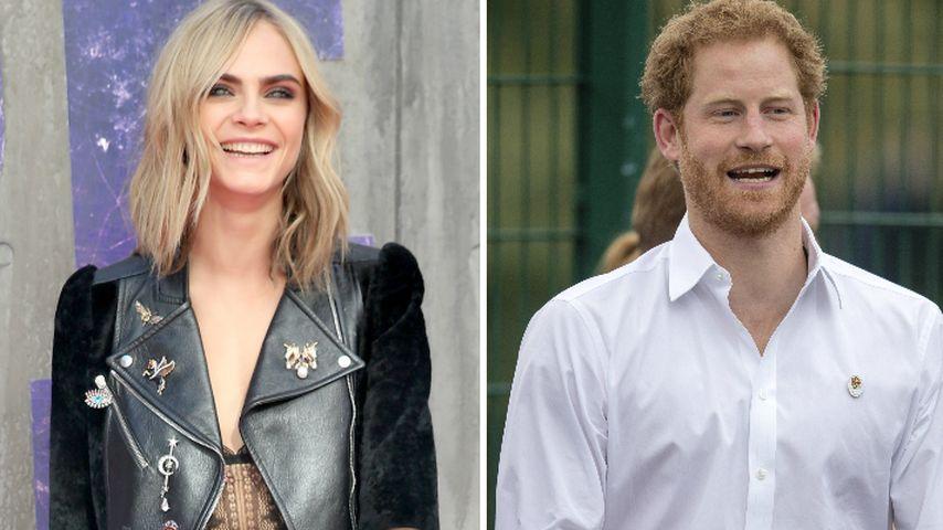 Margot oder Cara: WER flirtet betrunken mit Prinz Harry?