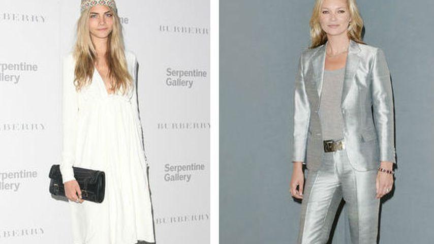 Modelzoff: Kate Moss bricht Kontakt zu Cara Delevingne ab