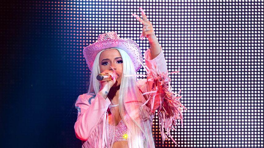 Cardi B während ihres Auftritts in RodeoHouston, Texas
