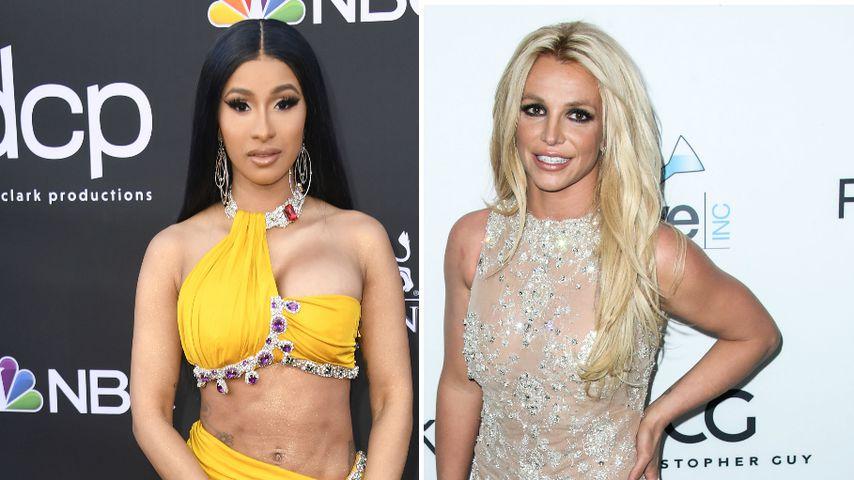 """""""Ich liebe und verstehe dich"""": Cardi B unterstützt Britney"""
