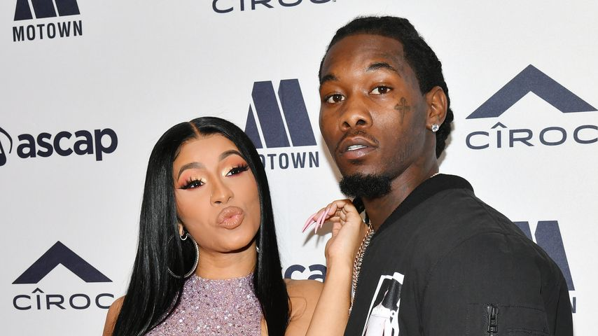 Cardi B und Offset 2019 in Beverly Hills
