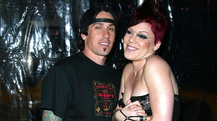 Carey Hart und Pink im Februar 2003