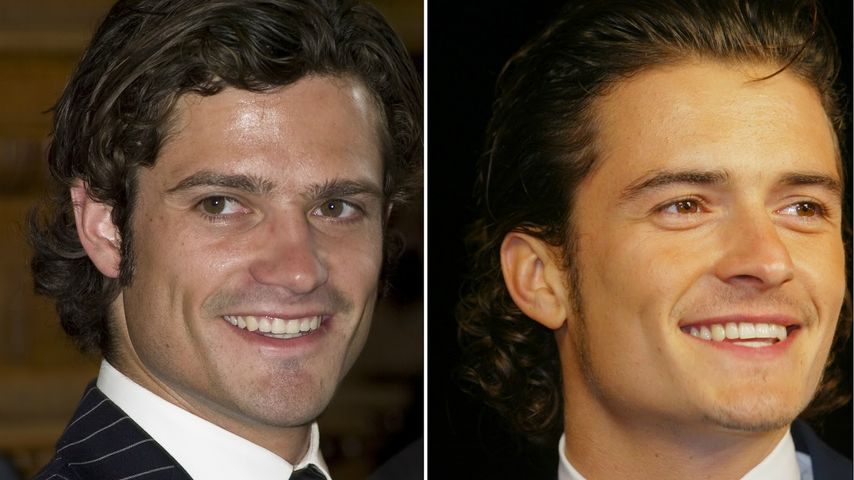Prinz Carl Philip & Orlando Bloom: Super-heiße Promi-Twins!
