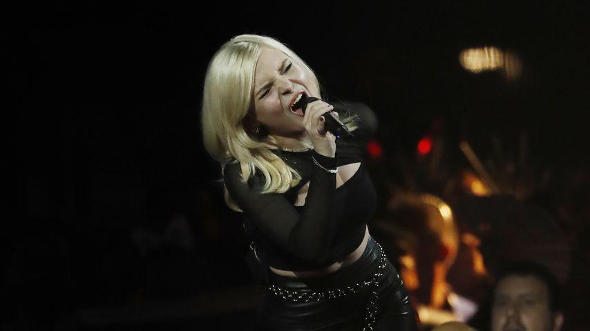 "Carlotta Truman beim ""Eurovision Song Contest"", 2019"