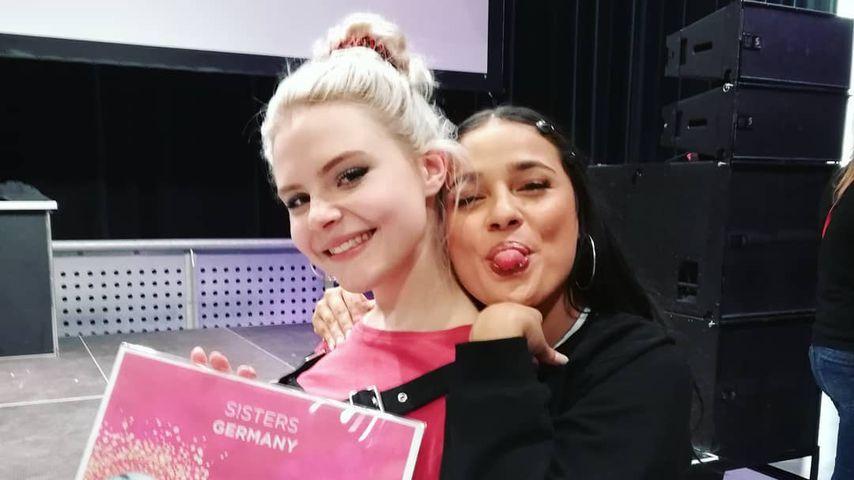 Carlotta und Laurita von S!sters, April 2019