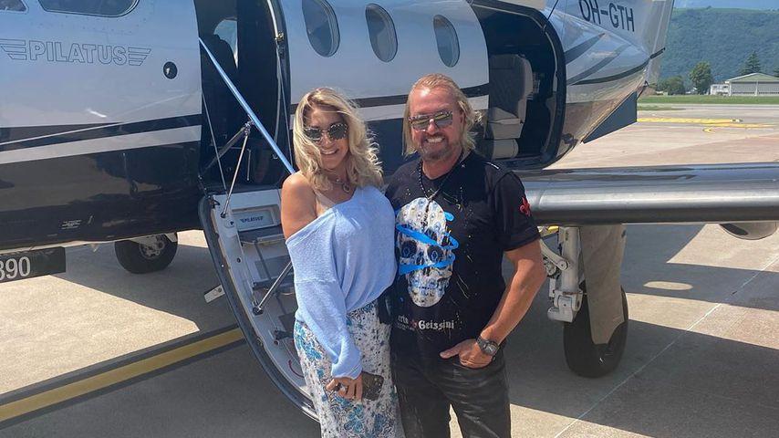 Carmen und Robert Geiss im Juli 2020