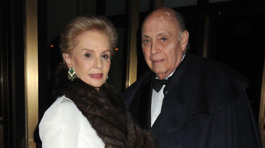 Carolina Herrera und ihr Ehemann Reinaldo Herrera Guevara