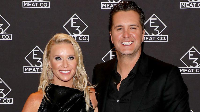 Caroline Boyer und Luke Bryan in Nashville, 2019