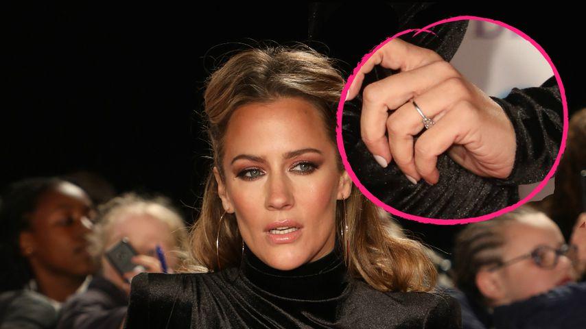 Liebes-Comeback-Beweis: Caroline Flack trägt Verlobungsring
