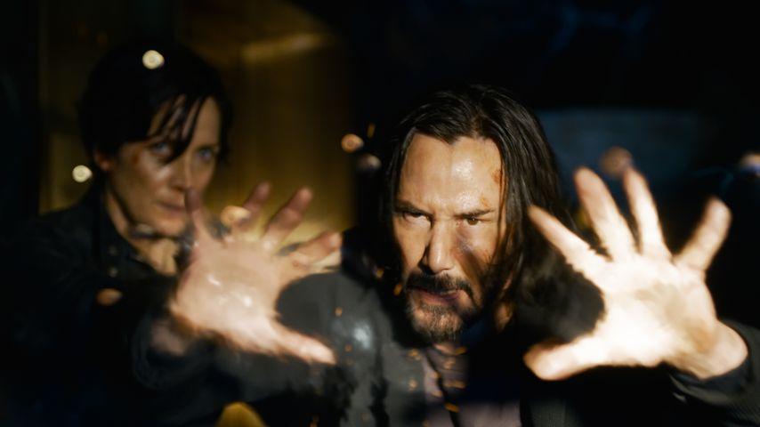 """Carrie-Anne Moss und Keanu Reeves in """"Matrix 4"""""""