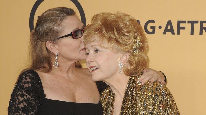 Debbie Reynolds & Carrie Fisher: Innige Mama-Tochter-Liebe?
